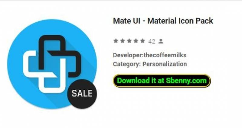 Mate UI - Material Icon Pack