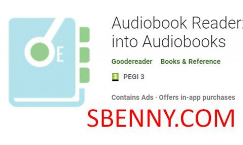 Audiobook Reader: Trasforma gli ebook in audiolibri + MOD