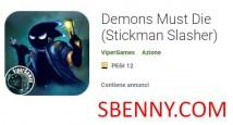 Demons Must Die (Stickman Slasher) + MOD