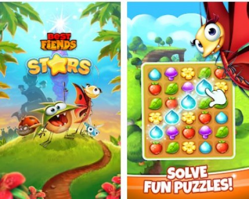 Best Fiends Stars - Free Puzzle Game + MOD