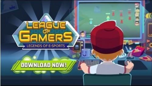 League of Gamers - Devenez une légende de l'e-sport! + MOD