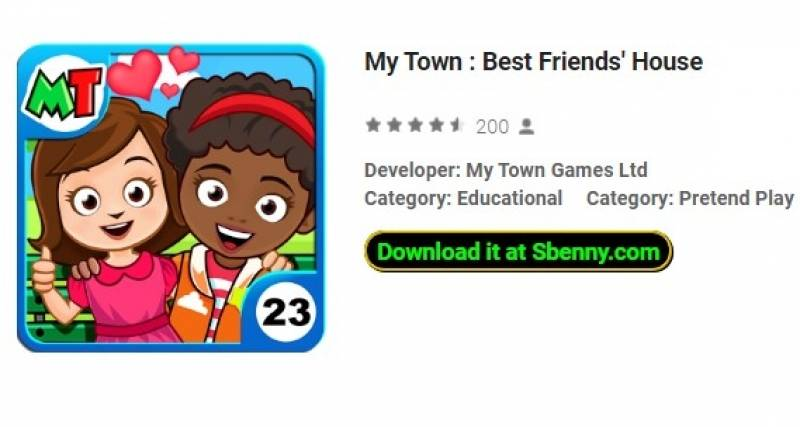my town best friend house apk free download