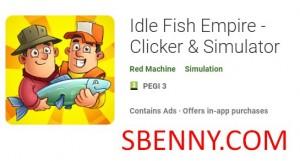 Idle Fish Empire - Clicker & amp; Симулятор + мод