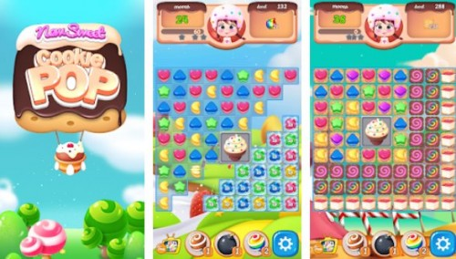 Nouveau Sweet Cookie POP: monde de puzzle 2020 + MOD