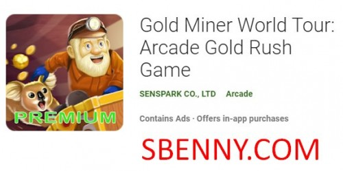 Gold Miner World Tour: Arcade-Goldrauschspiel
