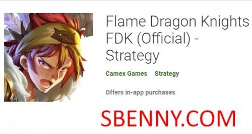 Flame Dragon Knights FDK (Oficial) - Estrategia + MOD