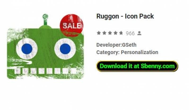 Ruggon - Pacote Ícone