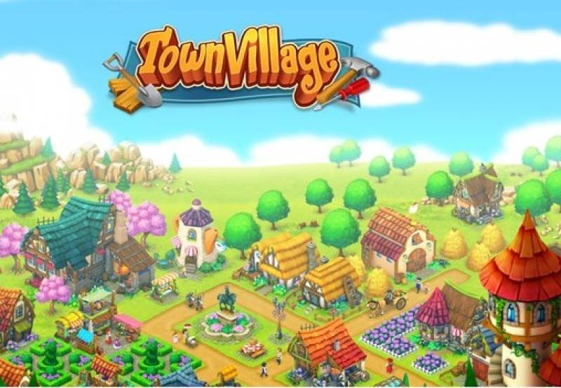 Town Village: ferme, construction, commerce, ville de récolte + MOD