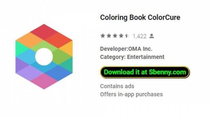 Colorir Livro ColorCure + MOD