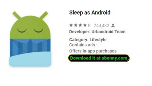 Sleep as Android + MOD