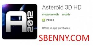 Asteroide 3D HD + MOD
