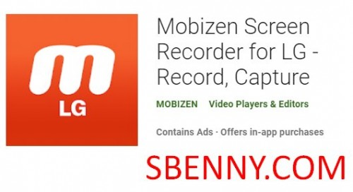 Mobizen Screen Recorder für LG - Record, Capture + MOD