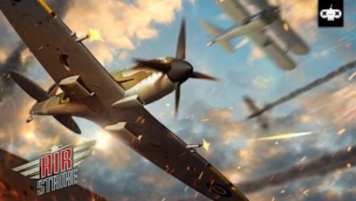 Frappe aérienne: WW2 Fighters Sky Combat Attack + MOD