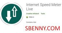 Medidor de Velocidade da Internet Live + MOD
