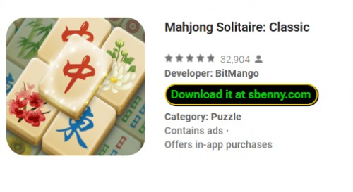 Mahjong Solitaire: Classic + MOD