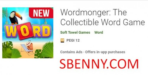 Wordmonger: The Collectible Word Game + MOD