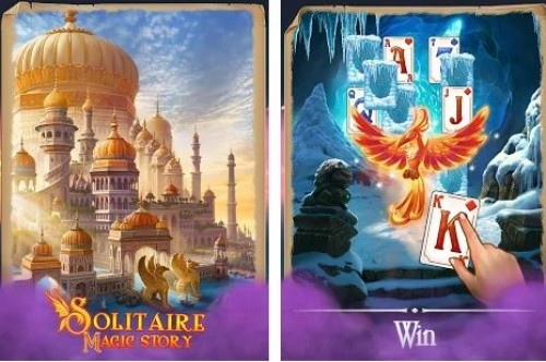Solitaire Magic Story Offline Cards Card + MOD