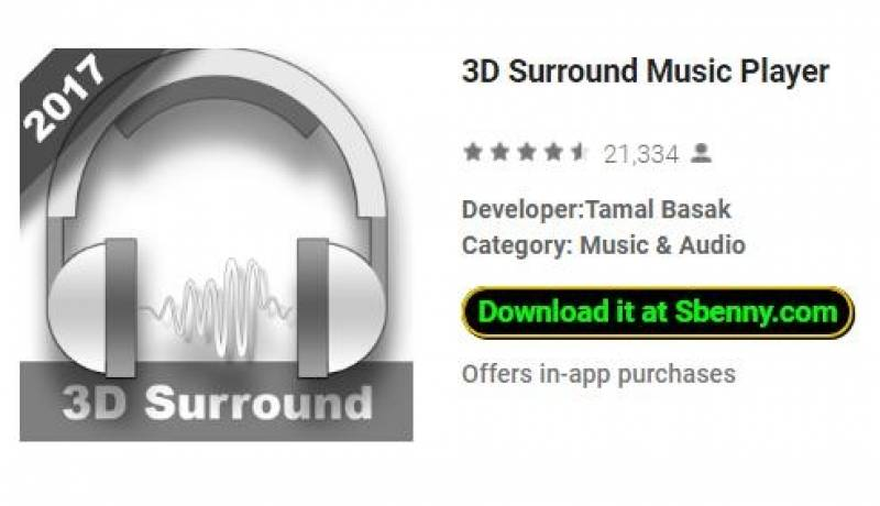3D Surround Music Player + MOD
