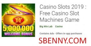 Casino Slots 2019: Juego de máquinas tragamonedas de casino gratis + MOD