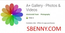 A + Gallery - Foto e amp; Video + MOD