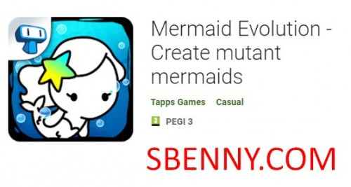 Mermaid Evolution - Create mutant mermaids + MOD