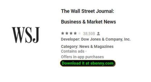 The Wall Street Journal: Negocios & amp; Noticias del mercado + MOD