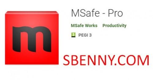 MSafe - Pro