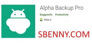 Alpha Backup Pro + MOD