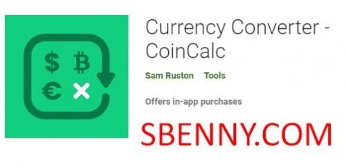 Währungsrechner - CoinCalc + MOD