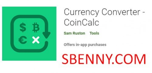 Conversor de divisas - CoinCalc + MOD