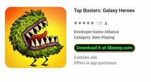 Tap Busters: Galaxy Heroes + MOD