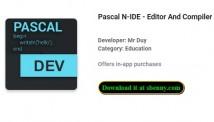 Pascal N-IDE - Редактор и компилятор - Программирование + MOD