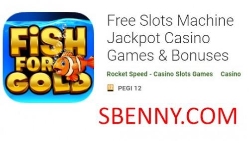 Máquina de Slots Grátis Jackpot Casino Games & amp; Bônus + MOD