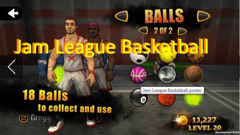 Jam League Basketball + MOD