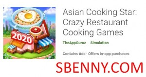 Asian Cooking Star: Verrückte Restaurantkochspiele + MOD