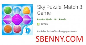 Sky Puzzle: Match 3 Game + MOD