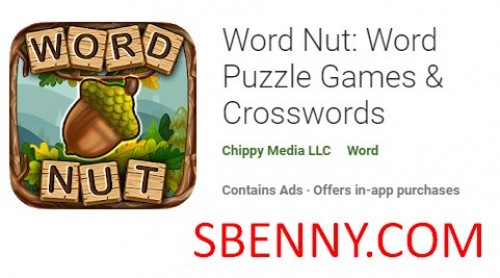 Word Nut: Word Puzzle Games & Crosswords + MOD