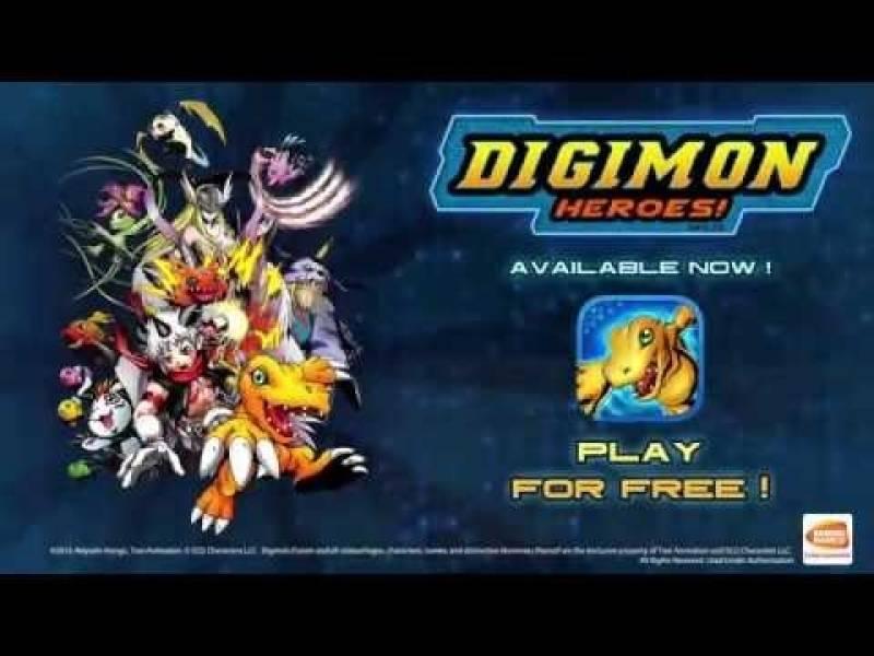 Digimon Heroes! + MOD