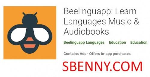 Beelinguapp: زبانها را بیاموزید موسیقی و کتابهای صوتی + MOD