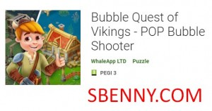Bubble Quest of Vikings - Tireur de bulles POP + MOD