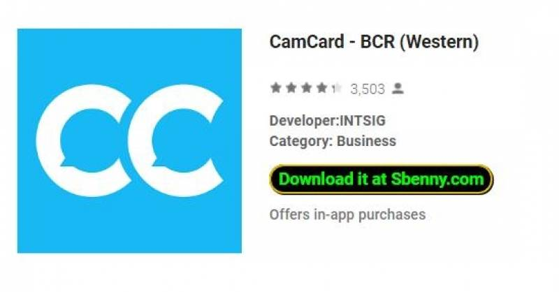 CamCard - BCR (occidental)