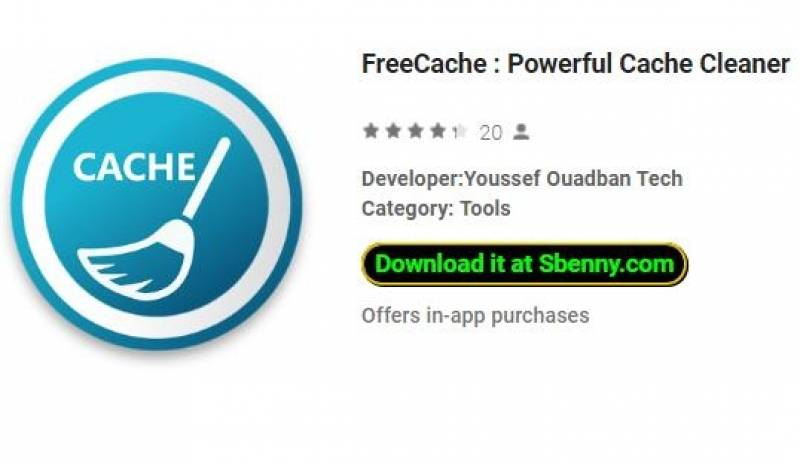 FreeCache : Powerful Cache Cleaner + MOD
