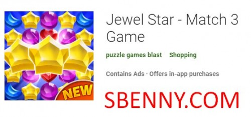 Jewel Star - матч 3 игры + MOD