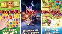 Tropicats: Match 3 gratis en un Cats Tropical Island + MOD