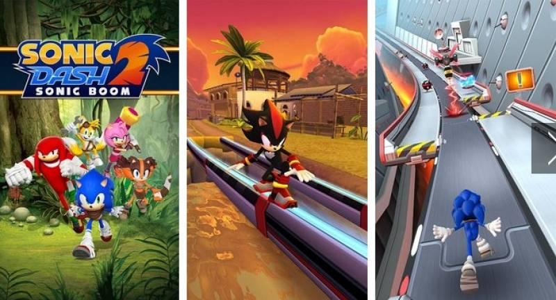 Di Sonic Dash 2: Sonic Boom + MOD