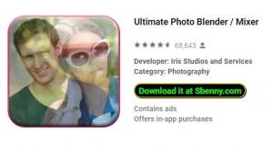 Ultimate Photo Blender / Mixer + MOD