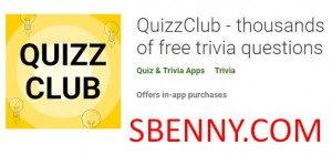QuizzClub - thousands of free trivia questions + MOD