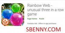 Rainbow Web - jogo incomum de três em linha + MOD