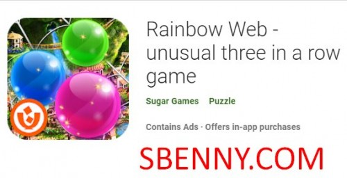 Rainbow Web - logħba mhux tas-soltu tlieta filliera + MOD