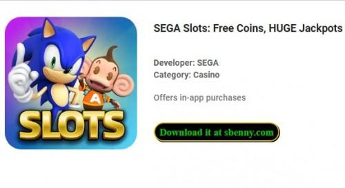 Slot SEGA: monete gratis, enormi jackpot e vittorie + MOD